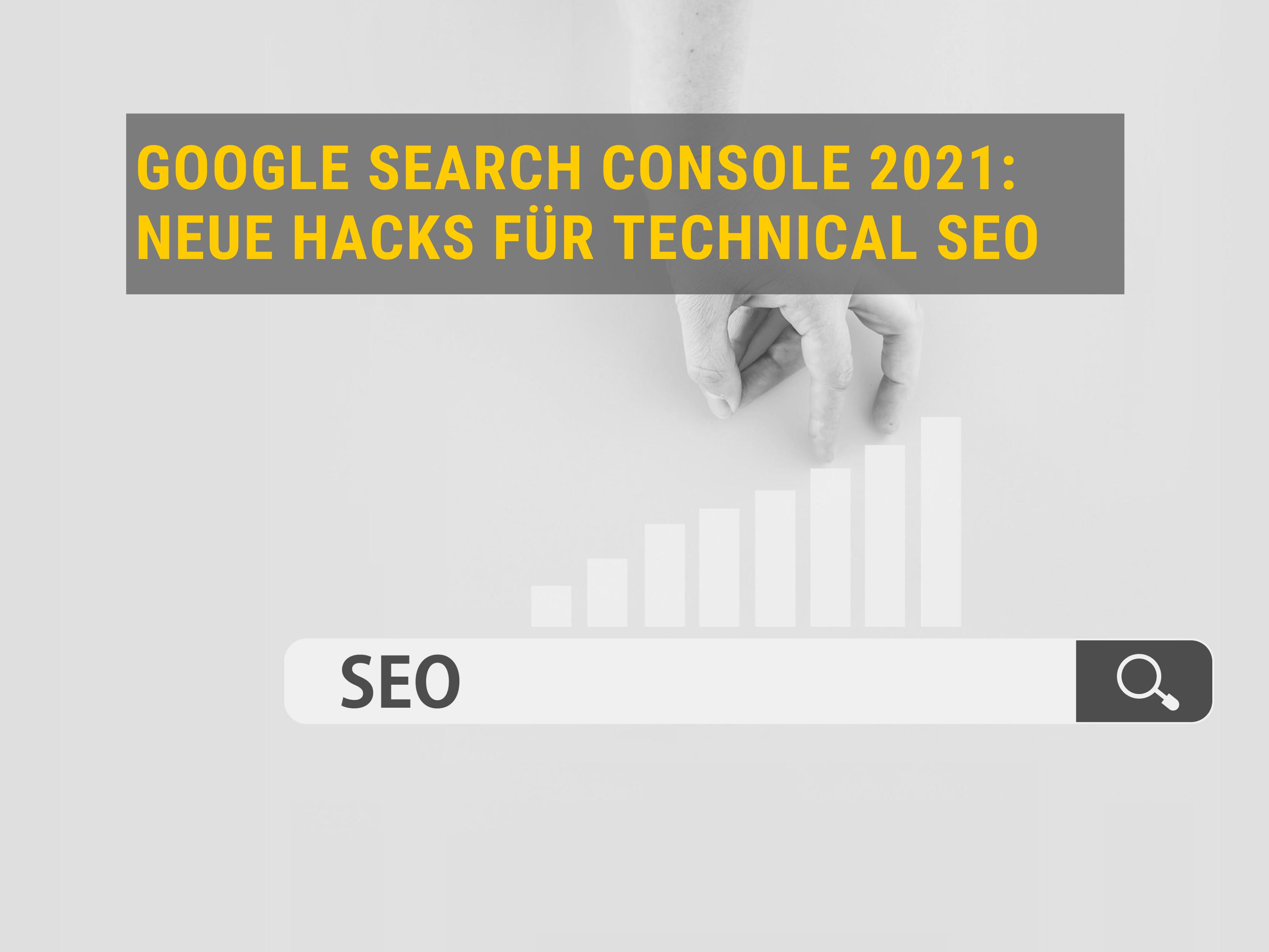 Google Search Console 2021